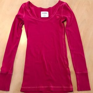 Abercrombie Kids cute stretch l/s tee, size M
